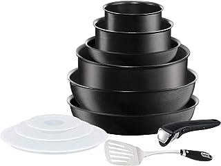 Tefal L65099AZ Ingenio Expertise Induction Batterie Cuisine 11p Antiadhésives, Casseroles, Poêles, Wok, Couvercles, Sauteu...