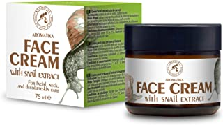 Crema de Baba Caracol 75ml - Crema Hidratante de Caracol & Aloe - Ingredientes Naturales Antienvejecimiento Antiarrugas y...