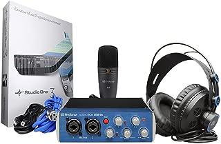 Presonus Audiobox 96 Studio Podcast Podcasting Interface+Headphones+Microphone