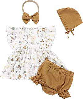Toddler Baby Girl Outfits Cute Summer Clothes Tank Top Sleeveless Shoulder Straps Ruffle Shorts 2PCS Sets 0Months-3T