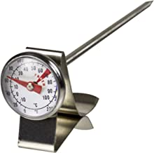 Davis & Waddell Essentials Stainless Steel Café Milk Frothing Thermometer 2.5x13.5cm -10°C to 100°C Temperature Range