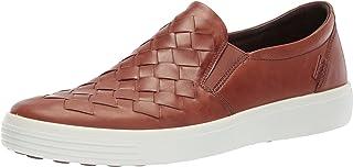 ECCO Men's Soft 7 Woven Slip on Fashion Sneaker