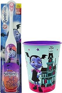 Vampirina Toothbrush Kids Set - 2 Items - Spinbrush Powered Toothbrush, Character Rinse Cup