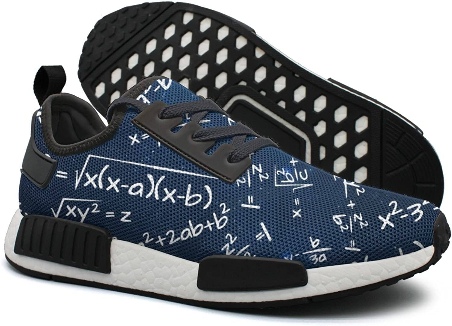 Galaxy Math Formula Women's Cute Lightweight Volleyball Sneakers Gym Outdoor Boat shoes