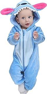 EOZY Baby Strampler Mädchen Jungen Romper Tier Overall Bodysuit