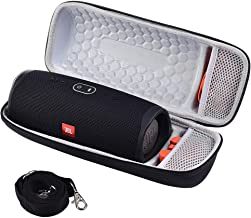 Case for JBL Charge 4 Portable Waterproof Wireless Bluetooth Speaker, Fits USB Cable and Charger with Strap(Box Only)