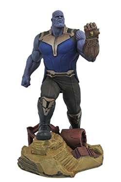 DIAMOND SELECT TOYS Marvel Gallery: Avengers Infinity War Movie Thanos PVC Diorama Figure