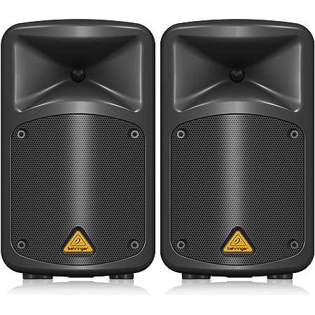 Behringer ポータブルPAシステム 8ch 超軽量デザイン MP3プレーヤー/ULMワイヤレス対応USBポート/FBQ機能/リバーブエフェクト/ボイスオーバー機能搭載 マイク付属 EPS500MP3 ブラック