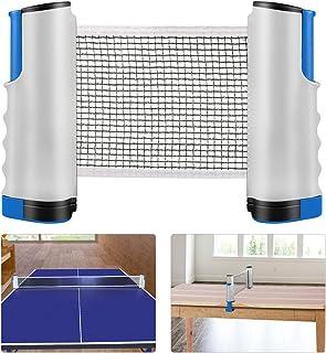 new product 51305 875ac Weeygo Filet de Ping Pong, Filet de Tennis de Table Rétractable Set de  Remplacement