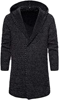 Mens Fashion Long Sleeve Cardigan Sweatshirt Hoodie Outerwear Jacket