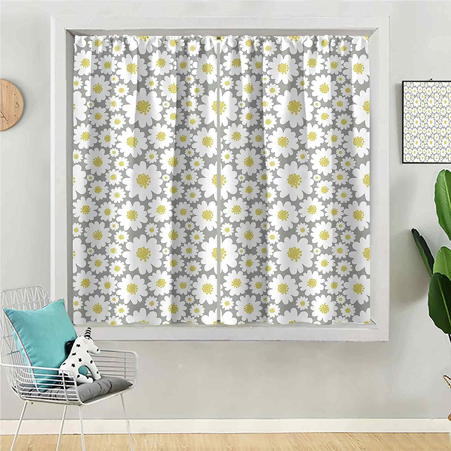 Blackout Curtain 63 Classic inches Long Be Max 81% OFF Window for Kids Panel
