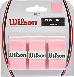 Wilson Tennis Racquet Racket Pro Comfort Overgrip (3 Pack) Felt Color Choice