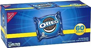 OREO Chocolate Sandwich Cookies, 60 Snack Packs (2 Cookies Per Pack)