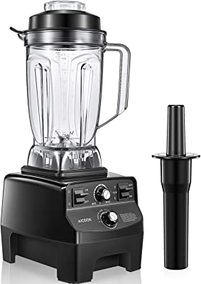 Countertop Blender for Kitchen, AICOOK Professional 1450W Smoothie Maker Food Processor Blender for Shakes, Smoothies and Frozen Fruits Vegetables with 70 oz BPA-Free Pitcher, 14-Speeds Control