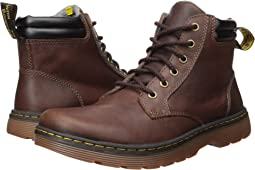 Dark Brown/Black Forty Leather