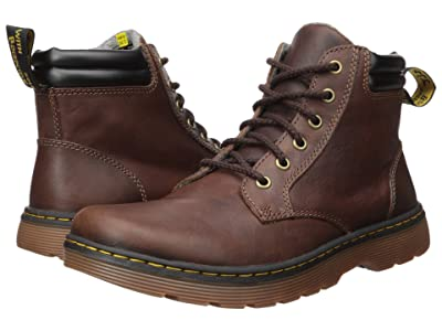 Dr. Martens Tipton Robson II (Dark Brown/Black Forty Leather) Men