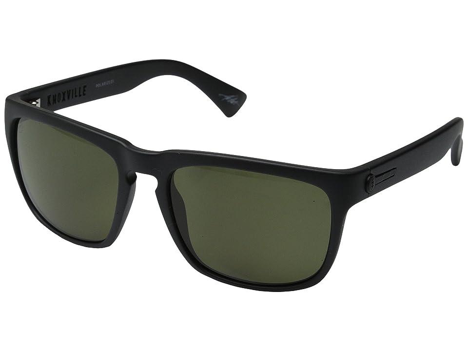 Electric Eyewear Knoxville Polarized (Matte Black/OHM Grey Polar) Sport Sunglasses