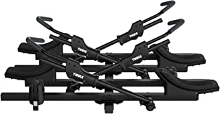Thule T2 Classic Car Hitch Mount Bike Carrier with Add-On Rack (2