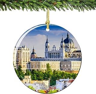 Best madrid christmas ornament Reviews