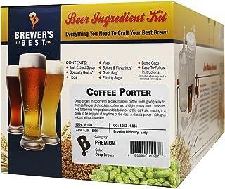 Brewer's Best - Home Brew Beer Ingredient Kit (5 gallon), (Coffee Porter)