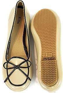 Surell Rubber Slip On Belgium Style Moccasin Shoe - Eco Friendly Moc Flats - 100% Waterproof
