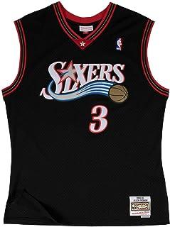 e9aee11b Mitchell & Ness Philadelphia 76ers Allen Iverson 2000 Road Swingman Jersey