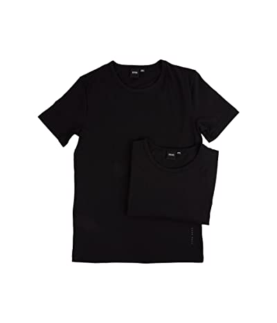 BOSS Hugo Boss T-Shirt Round Neck 2-Pack CO/EL 10194356 01 (Black) Men