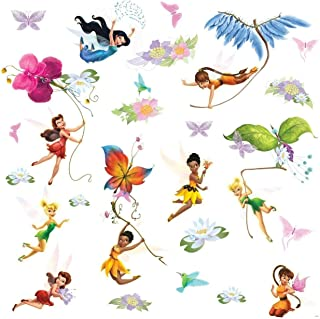 RoomMates RMK1493SCS Disney Fairies Peel and Stick Wall Decals