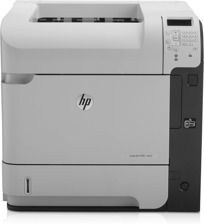 HP Laserjet Ent 600 M601N Printer (Renewed)