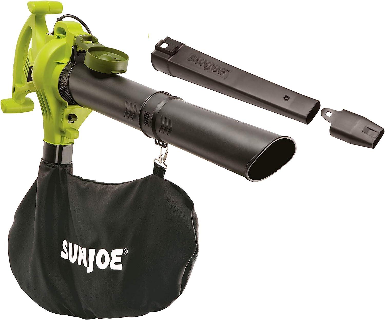 Sun Joe SBJ603E 13-Amp 240 MPH 3-in-1 Electric Blower/Mulcher/Vacuum, 32.7 Inch, Green : Garden & Outdoor
