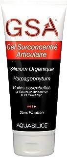 Aquasilice GSA Gel Surconcentré Articulaire Silicium Organique, Harpagophytum, Huiles Essentielles 200 ml