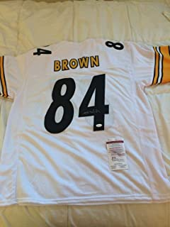 5a815958d Antonio Brown Autographed Signed Jersey Pittsburgh Steelers Memorabilia -  JSA Authentic