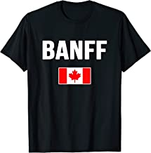 Banff T-shirt Canada Souvenir Travel Vacation Tour