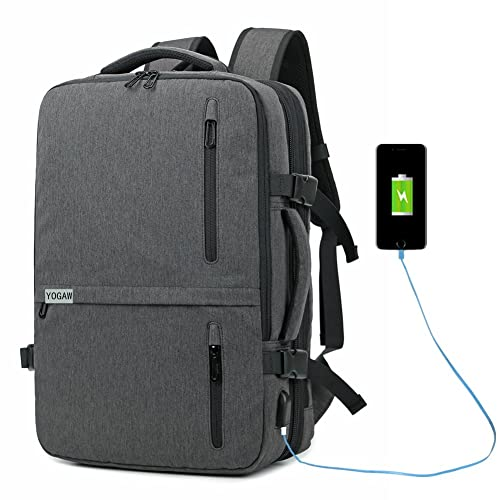 ZUQIANG Business Backpack Flight Approved Carry on Backpacks Multipurpose  Trip Bag b41575d9b51fe