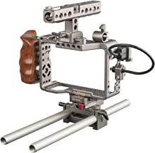 Tilta ES-T17-A Alpha Series Handheld Camera Cage Rig with Start/Stop Trigger for a7R/a7RII/a7S (Silver)