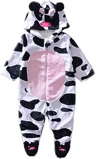 cow onesie baby