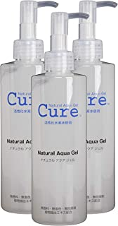 TOYO Cure Natural Aqua Gel - Hydrogen Activated Water Skin Exfoliator Suitable for All Skin Types (8.5 Ounce / 250 Milliliter - PACK OF THREE)