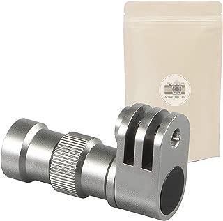 Adattatore per treppiede per GoPro con Vite da 1//4 5 mm 2X AGP Fissaggio per Go PRO Hero 7//6//5//4//3 +//3//2//1 su monopiede