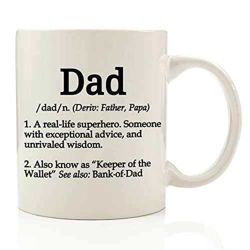 Dad Definition Funny Coffee Mug 11 Oz