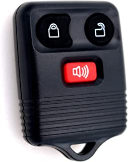 Ease2U Ford Key Fob Shell Genuine Ford Keyless Entry Remote Key 3 Buttons Empty Shell ONLY