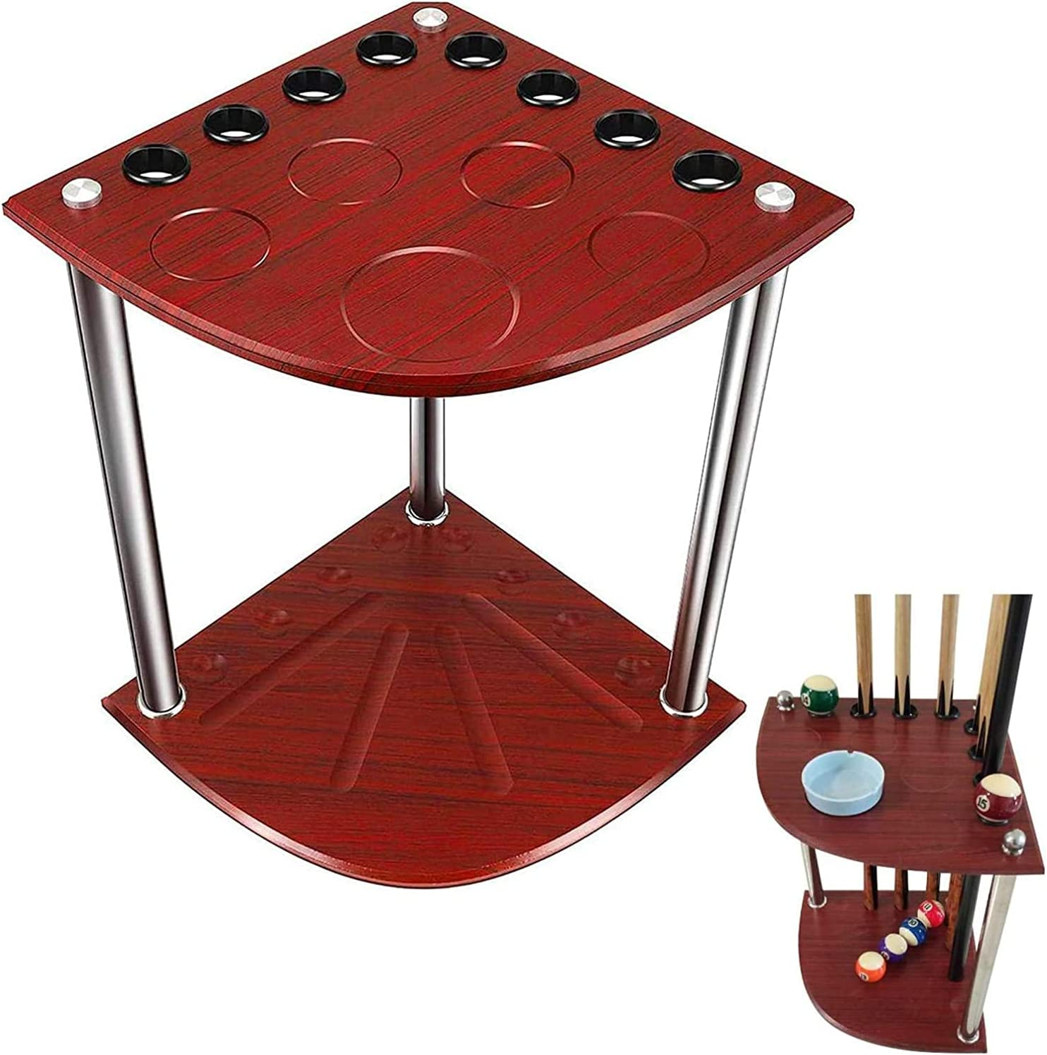 YIQQWS0915 Pool Cue Rack Super beauty product restock quality top New Shipping Free Shipping Stick Billiards Billiard