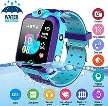 Kids Smart Watch,Childrens Smartwatch for Kids Boys,Waterproof LBS Tracker Watch HD Touch..