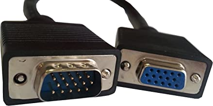 Xavier HD15MF-10 SVGA/VGA Cable HD15 Male-Female Extension, 10', Extends VGA Monitor Cable