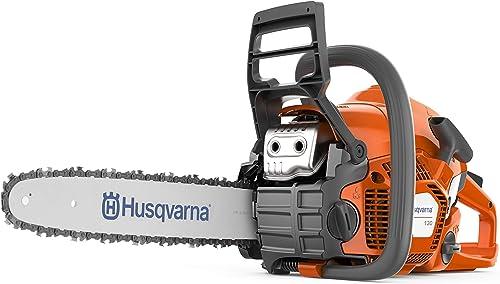 discount Husqvarna high quality 16 Inch 130 high quality Gas Chainsaw,Orange sale