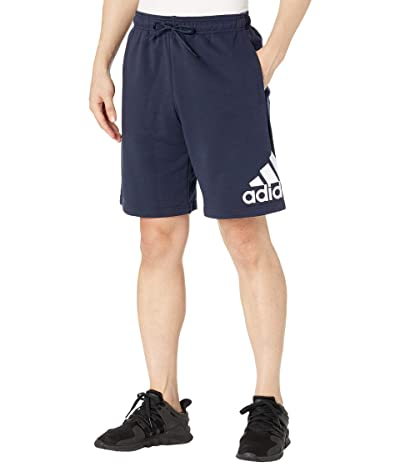 adidas Must Have Badge of Sport French Terry Shorts (Legend Ink/White) Men
