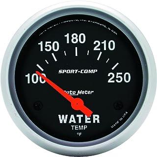 Auto Meter 3531 Sport-Comp Electric Water Temperature Gauge Regular, 2 5/8'