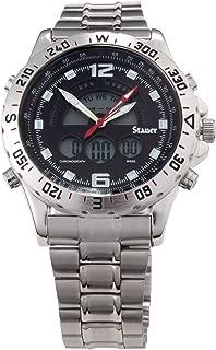 Stauer Men's Compendium Hybrid Stainless Steel Watch