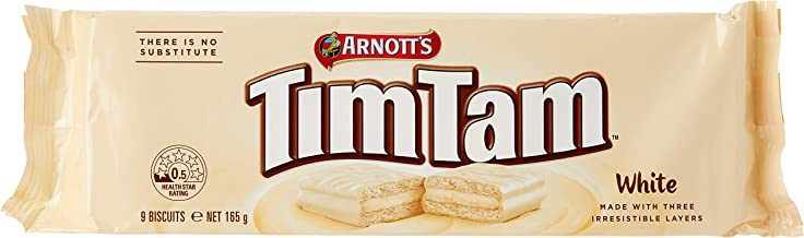 Arnott's Tim Tam White Biscuits, 165 Grams