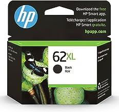 Original HP 62XL Black High-yield Ink | Works with HP ENVY 5540, 5640, 5660, 7640 Series, HP OfficeJet 5740, 8040 Series, ...