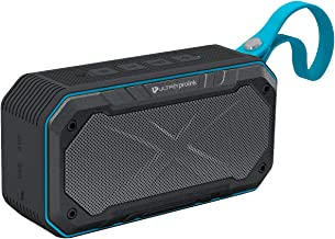 UltraProlink UM0070 Hi-Q Bravo Waterproof IPX7 Wireless Portable Bluetooth Multimedia Speaker with Deep Bass, Aux in, SD C...